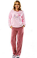 Пижама женская (пушистая) Bellezza № 5001