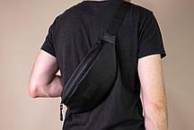 Поясная сумка большая Black, фото 3