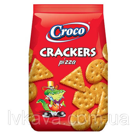 Крекер зі вкусои піци Croco , 150 гр, фото 2
