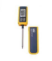 Цифровой термометр для мяса со щупом AV VA6502 Желтый mdr2000, КОД: 1267908