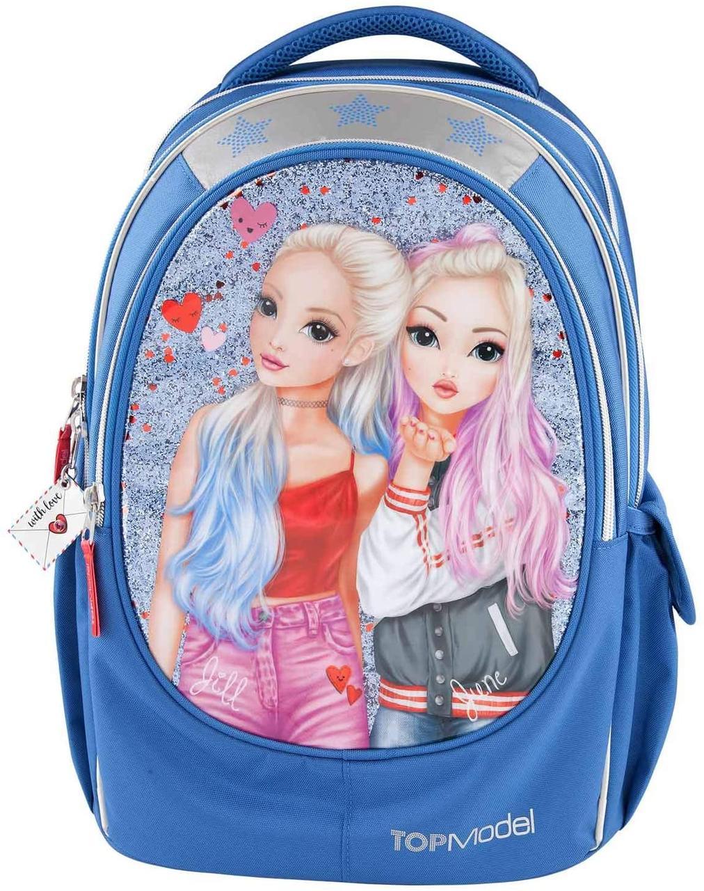 Top Model Depesche Шкільний рюкзак Top Model Friends June & Jill синій (Шкільний портфель Топ Модел Друзі)