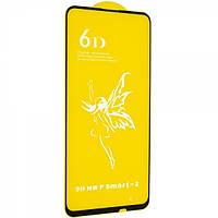 Защитное стекло 6D Glass Premium для Huawei P Smart Z Черный 107091, КОД: 1537185