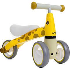 Детский беговел Juniori для малышей  Желтый