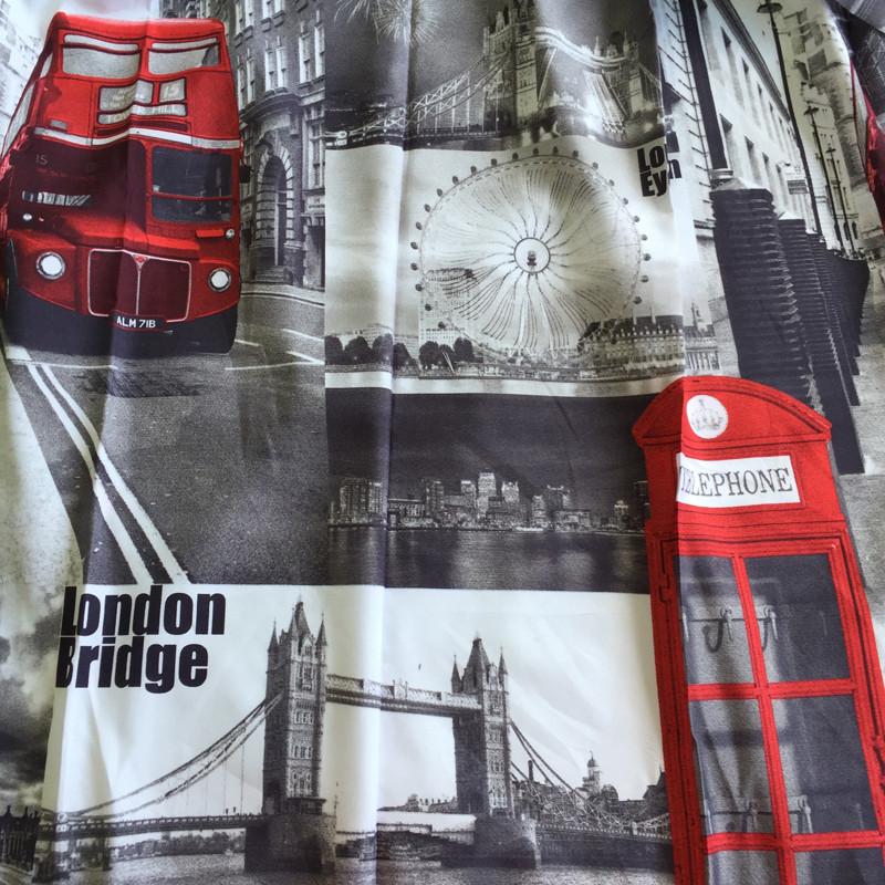 Лондон  (шторы + тюль) 4337