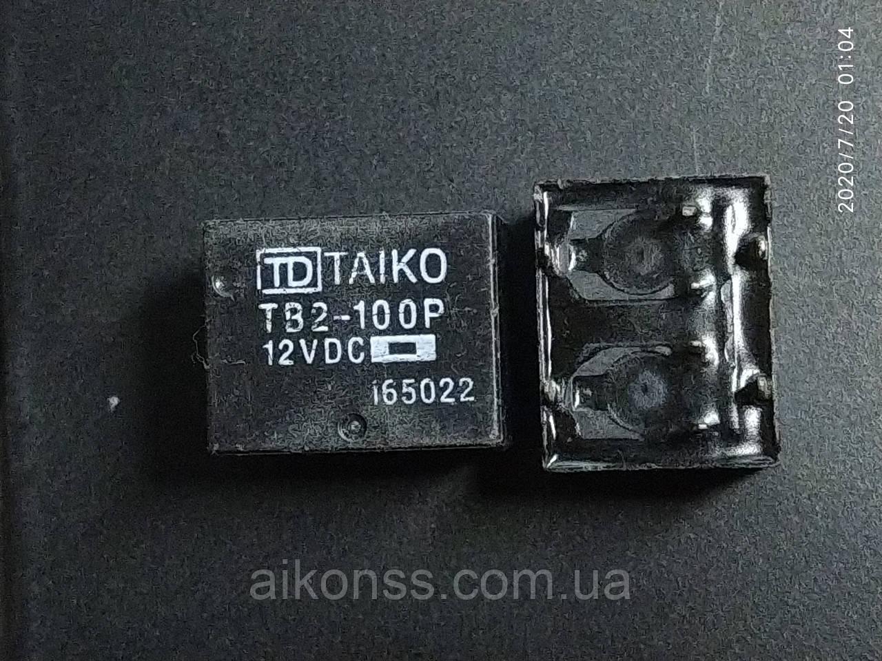 Реле автомобільне TAIKO TB2-100P Honda Accord 2.4 Corolla реле управління центрального замку