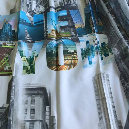 Нью-Йорк  (шторы + тюль) 10297