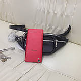 Женская сумка бананка black, фото 2