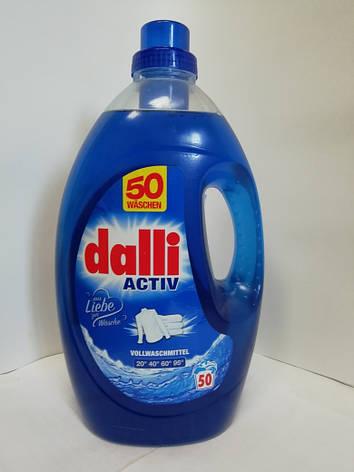 Бесфосфатный стиральный гель 50 стирок Dalli Activ, фото 2