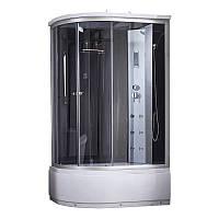 Гидромассажный бокс Q-tap SBM12080.2R SAT (Black/Grey)