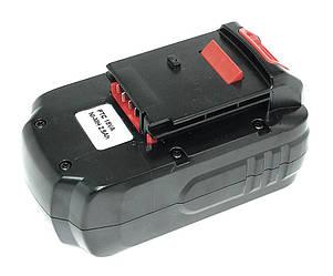 Аккумулятор для шуруповерта Porter-Cable PC18B 2.5Ah 18V черный