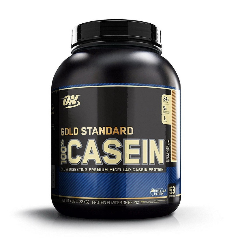 Казеин 100% Casein Gold Standard Optimum Nutrition 1816g, разные вкусы