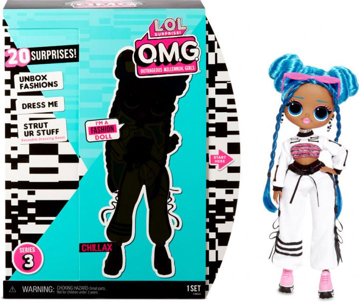 L.O.L. Surprise! O.M.G. S3 Леди-релакс с аксессуарами 570165 Chillax Fashion