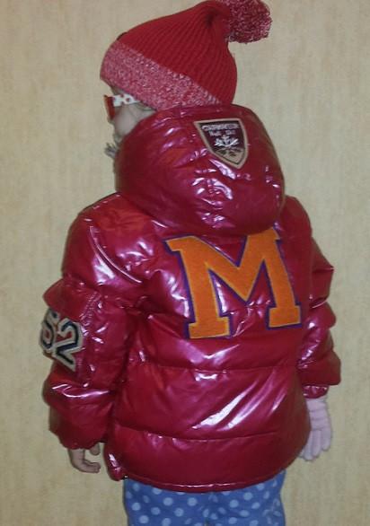 Детский пуховик Монклер красный для мальчика или девочки, Moncler рост 110-120см - Интернет-магазин детских товаров «Детки» в Одессе