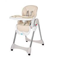 Раскладной стульчик для кормления «Bambi» M 3216-13 для девочки или мальчика бежевый