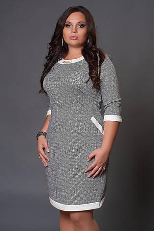 Платье с замком на спине большой размер, фото 2