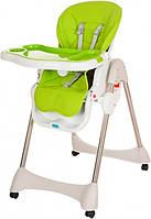 Раскладной стульчик для кормления «Bambi» M 3216-2-5 для девочки или мальчика салатовый