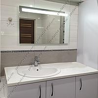 Зеркало с LED подсветкой, 800х600мм, L33, фото 1