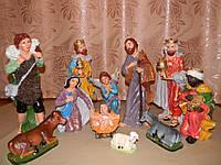 Рождественский вертеп (36 см), комплект фигурок