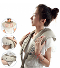 Масажер для спини і шиї Cervical Massage Shawls | Вібромасажер для спини | ударний масажер, фото 2