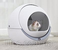 Автоматический туалет для кошек Petree, Белый,