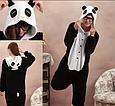 Детская пижама Кигуруми Панда 130 (на рост 128-138см), фото 2
