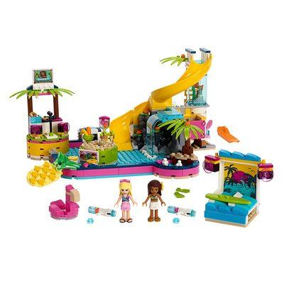 Конструктор LEGO Friends Вечеринка Андреа у бассейна (41374)