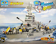 "Конструктор Sluban M38-B0126 ""Крейсер"", 577 деталей, 8 фигурок"