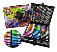 Детский набор для рисования, набор для детского творчества в чемодане 150 предметов!