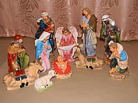 Рождественский вертеп (30 см), комплект фигурок
