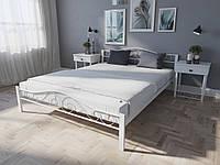 Кровать MELBI Элис Люкс Вуд Двуспальная 120190 см Белый КМ-018-02-5бел, КОД: 1396313