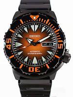 Мужские часы Seiko  SRP311K1 Black & Orange Monster