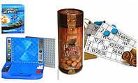 Настольные игры (лото, монополия, морской бой, Vega)