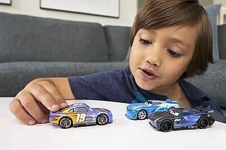 Ігровий набір трьох героїв з мультфільму Тачки 3 (Disney Pixar Cars Next Gen Racers 3-Pack) від Mattel, фото 3
