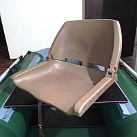 Поворотное кресло для лодки ПВХ пластиковое
