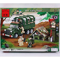 Конструктор Военный грузовик 811 BRICK