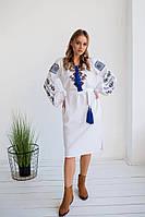 """Платье вышиванка с геометрическим орнаментом """"Судьба"""", фото 1"""