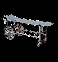 Тележка для перевозки больных со съемными носилками усиленная ТБС-150у