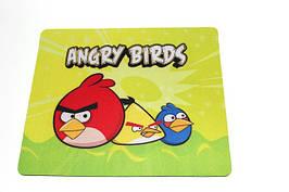 Коврик для мыши на подарок «Angry Birds». Купить в Харькове,Одессе,Днепропетровске,Донецке