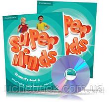 Підручник Super Minds 3 Student's Book with DVD-ROM Авт: Herbert Puchta Вид: Cambridge