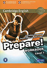 Підручник Cambridge English Prepare Student's Book Level 1 А 1 Companion for Ukraine Авт: Joanna Kosta, Iryna