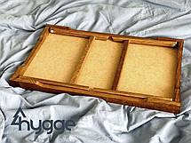 Деревянный столик для завтрака на кровать Hygge™ Vanlig, золотой дуб 7trav, фото 3