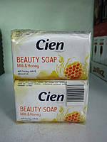 Мыло туалетное Cien с экстрактом молока и меда 2X100 г