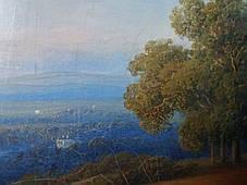 Картина Сельский пейзаж, худ. Willem Roelofs 1845 год, фото 3