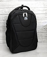 Большой подростковый школьный рюкзак ортопедический для парня старшеклассника подростка 9-10-11 класс черный
