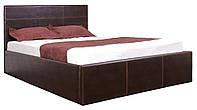 Кровать MELBI Каролина Двуспальная 160х200 см с подъемным механизмом Коричневый KS-024-02-4кор, КОД: 1640278