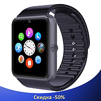 Умные часы Smart Watch GT08 Black - смарт часы под SIM-карту