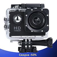 Экшн камера A7 Sport Full HD 1080P - Спортивная камера с аквабоксом, Копия GoPro