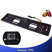 Камера заднього виду у рамці номери JX-9488 - Авторамка з камерою заднього виду