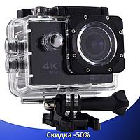 Экшн камера DVR SPORT S2 Wi Fi waterprof 4K - Водонепроницаемая спортивная экшн камера