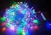 Новогодняя многоцветная гирлянда LED 200 M ( 200 светодиодов ) светодиодная, фото 4